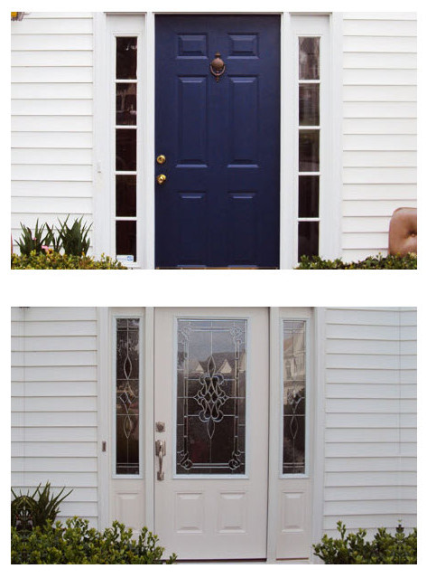 Before and After Entry Doors