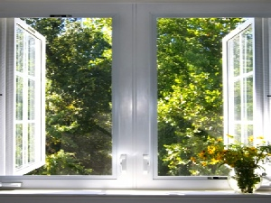 Casement Window Inside